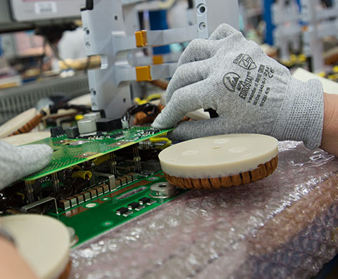 Electronic industrialisation for the industry sector