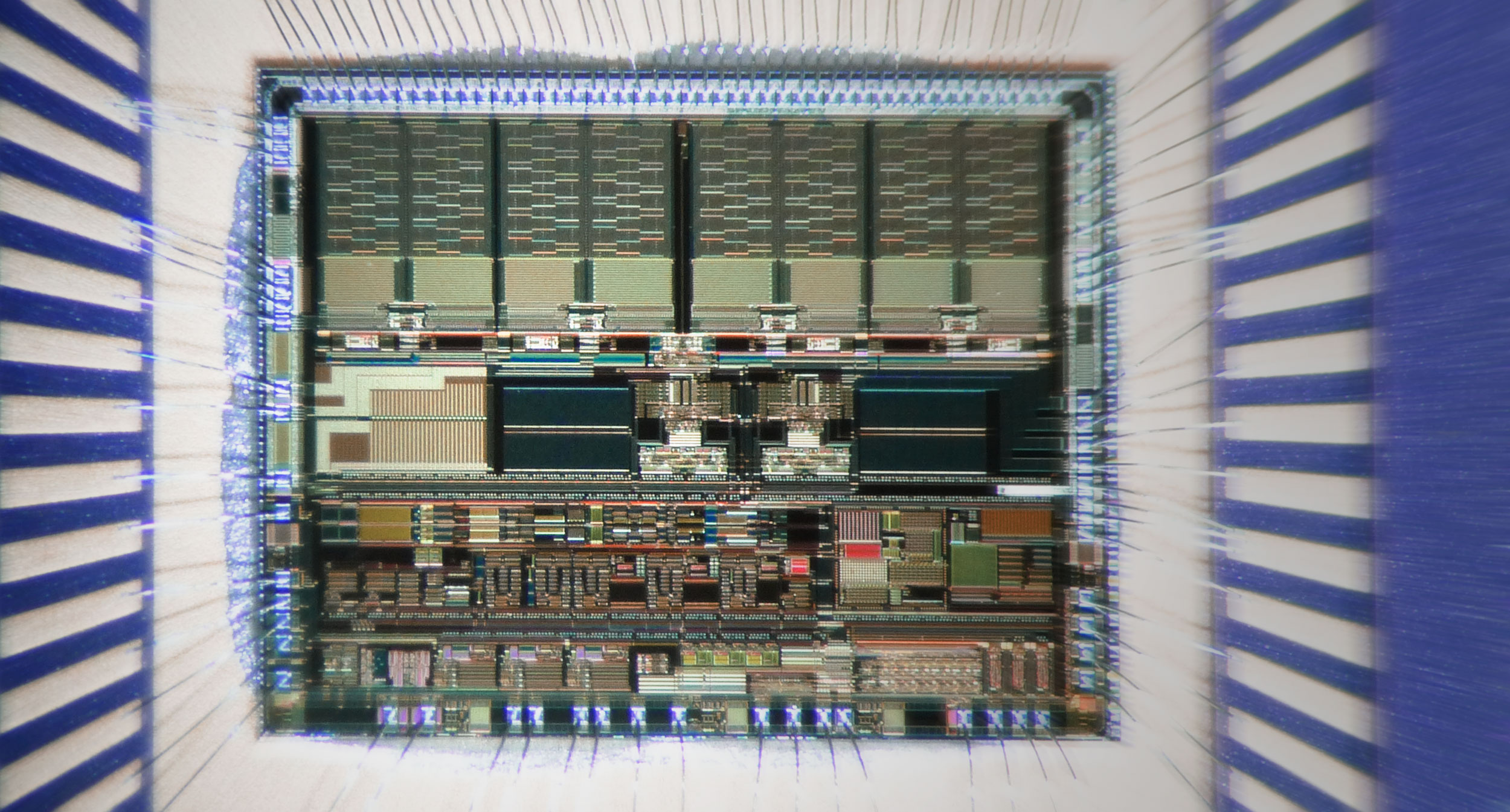 Ingénierie des composants électroniques – Intéreiur composant électronique