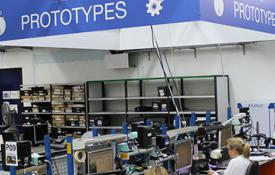 Electronic prototyping for the industry sector