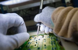 Electronic assembly and testing for the industry sector